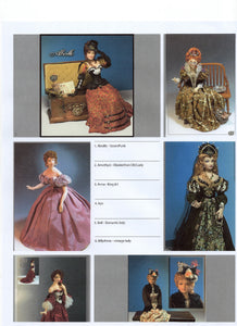 1:12 Visual Mini Doll Dressing Made Easy Christiane Heiress TUTORIAL By Dana-Mini Doll Art