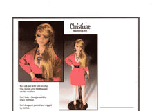 Load image into Gallery viewer, 1:12 Visual Mini Doll Dressing Made Easy Christiane Heiress TUTORIAL By Dana-Mini Doll Art