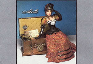 1:12 Visual Mini Doll Dressing Made Easy ~ABEILLE~ TUTORIAL By Dana-Mini Doll Art