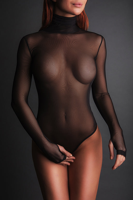 Bodysuit Roll-Neck