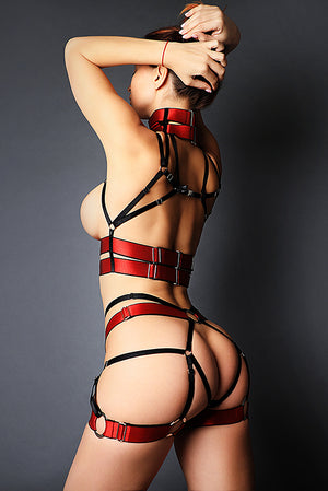 Load image into Gallery viewer, Harness Garter Belt Difrid