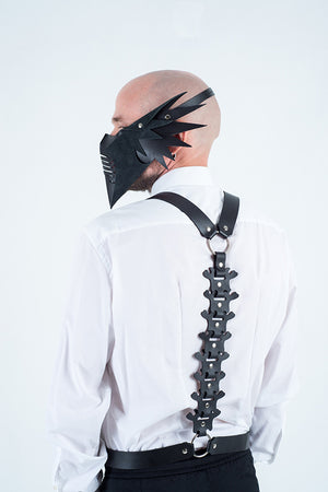 Harness Leather Top Spine