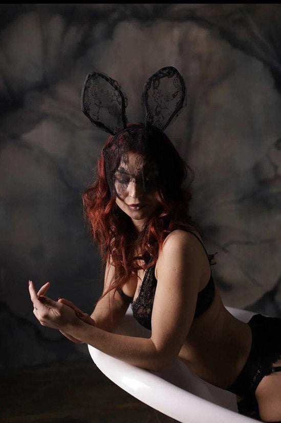 Lace Hare Mask