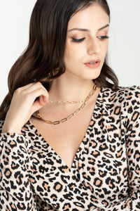 gold-toned-double-chain-necklace