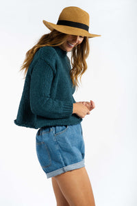 Rebekah Chenille Sweater-Ellie Code