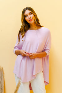 Sienna Knitted Jumper - LILAC-Ellie Code