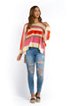 Angie Striped Jumper-Ellie Code