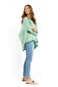 Demi Striped Jumper - GREEN-Ellie Code