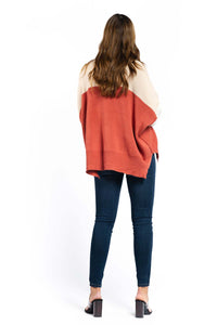 Aisha Cotton-blend Jumper-Ellie Code