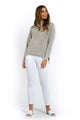 Alexa Knitted Jumper - GREY-Ellie Code
