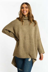Lyla Jumper - COFFEE-Ellie Code