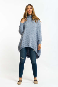 Talia Jumper - BLUE-Ellie Code