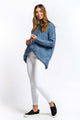 Aria Cable-knit Jumper - BLUE-Ellie Code