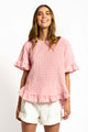 Cali Gingham Top - PINK-Ellie Code