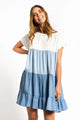 Hanna Dress -BLUE-Ellie Code