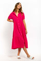 Lorita Maxi Dress - HOT PINK