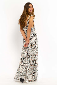 Halia Leopard Maxi Dress-Ellie Code