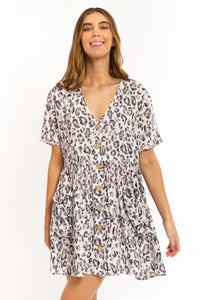 Lena Leopard Dress-Ellie Code