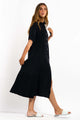 Lorita Maxi Dress - BLACK