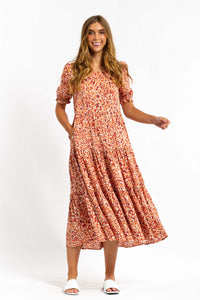 All Spice Printed Maxi Dress
