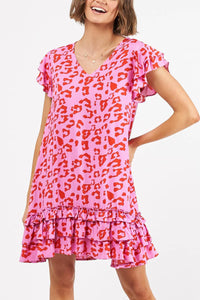 Alohi Leopard Print Dress
