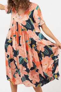 Amalfi Printed Maxi Dress