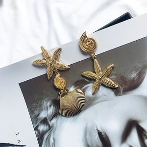 Seaside Earrings-Alibaba-Ellie Code