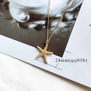 Chelsea Starfish Necklace-Alibaba-Ellie Code