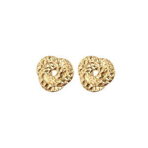 Gold Classic Knot Earring