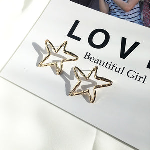 Everly Gold Star Earrings