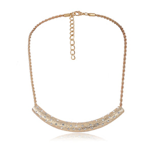 Gold-tone-bar-necklace