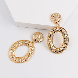 Gold Diamante Earring
