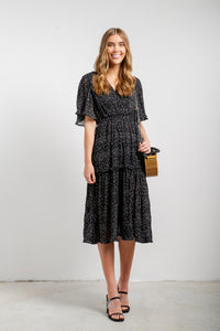 Cadence Polka-dot Midi Dress-My Girl-Ellie Code