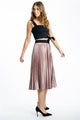 Velvet-Pleated-Skirt-pink