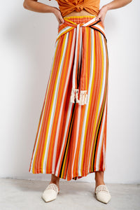 Alani Striped Pants-Iris Maxi-Ellie Code