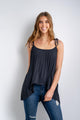 Blake Pleated Cami Top-Ellie Code