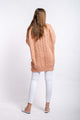 Aria Cable-knit Jumper - BLUSH-Ellie Code