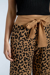 Ariana Leopard Knitted Pants-Ebby and I-Ellie Code