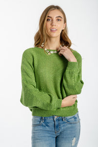 Lucie Knitted Top