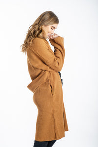 Grace Belted Cardigan-White Closet-Ellie Code