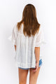 Cali Embroidered Cotton Top-Ellie Code
