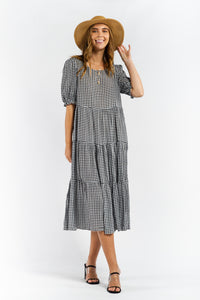 Phoebe Gingham Dress-Ellie Code