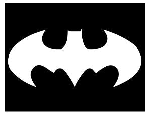Batman 1 vinyl stencil pack