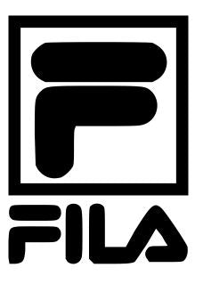 Fila logo with name vinyl stencil pack