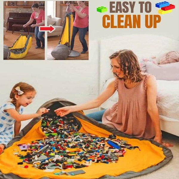 2in1 TOY MAT AND STORAGE BAG
