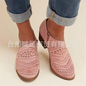 Spring and Summer Fashion Hollow Large Size Women's Sandals