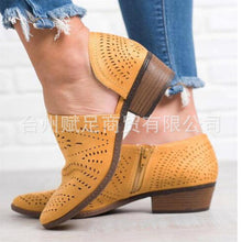 Load image into Gallery viewer, Spring and Summer Fashion Hollow Large Size Women's Sandals
