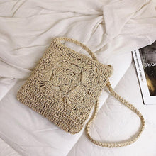 Load image into Gallery viewer, Beach Holiday Hand-woven Casual Handbag