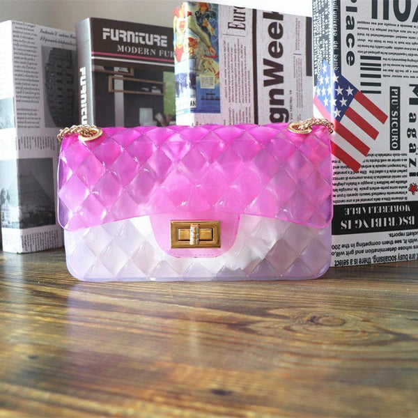 Transparent Mini  Summer Jelly Straddle Bag