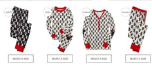 Load image into Gallery viewer, Family Christmas pajams printing set Xmas family suit -5